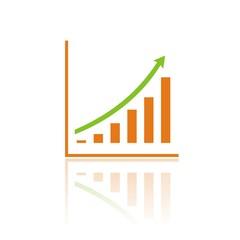 Icono gráfica beneficios color FB reflejo