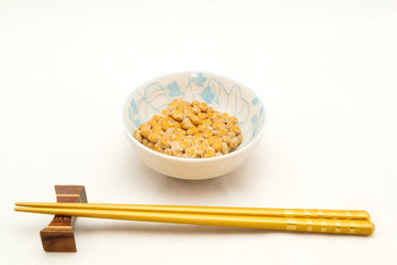 Natto (fermented soy beans) , japanese food