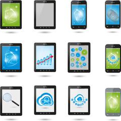 Tablet, Computer, Handy, Elektronik
