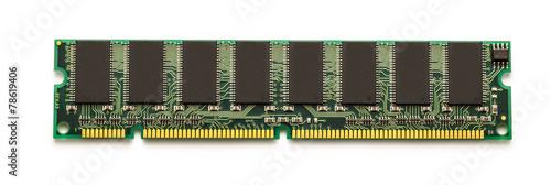 Leinwanddruck Bild Computer memory card