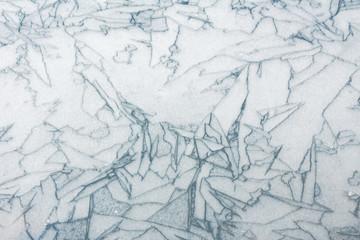 Muster im Eis