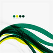 Shiny colorful abstract background, green and blue color