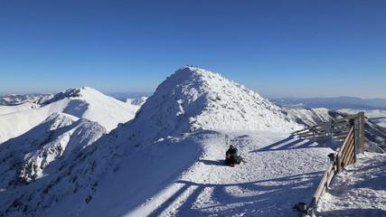 snow mountains ski Jasna Slovakia Tatras