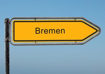 Strassenschild 35 - Bremen