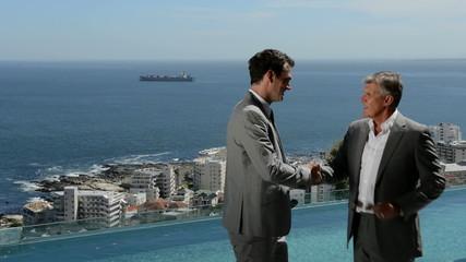 Real estate meeting