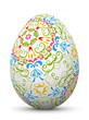 Osterei, verziert, Ornamente, Floral, bunt, Easter Egg, Easter