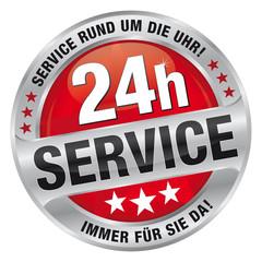 24h Service - Service rund um die Uhr! Immer für Sie da!