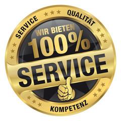 Wir bieten 100% Service - Service, Qualität, Kompetenz