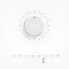 Analog regulator control interface, vector