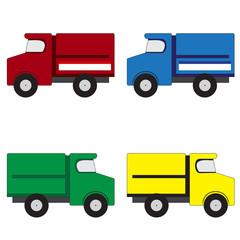 4 trucks