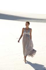 Woman in dunes