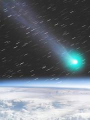 Asteroid/Comet/Meteor impact on Earth.