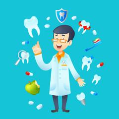 Dentistry Concept Illustration