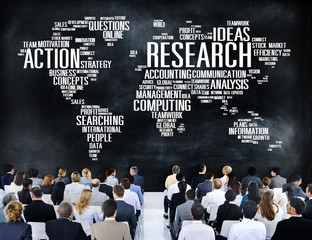 Research Study Report Response Result Action Concept