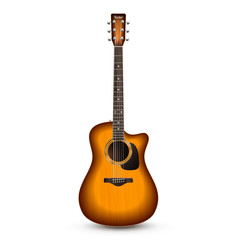 Guitar Realistic Isolated