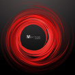 Abstract swirl red background. Vector Illustration - 78626857