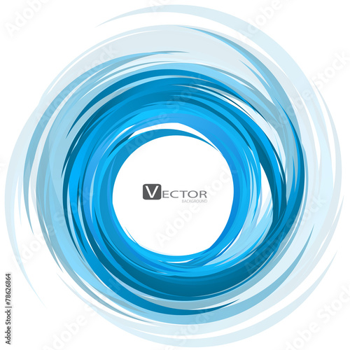 Abstract swirl background. Vector Illustration - 78626864
