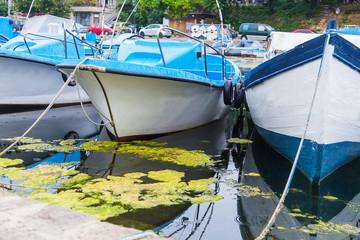 port boats ships sea