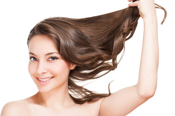 Strong healthy hair.