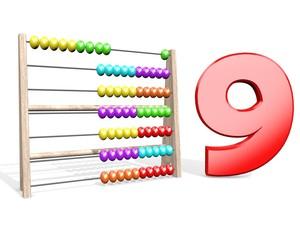 Telraam - tellen tot 9