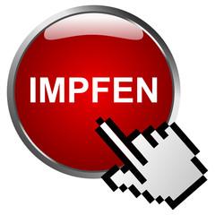 Impfen Button Rot