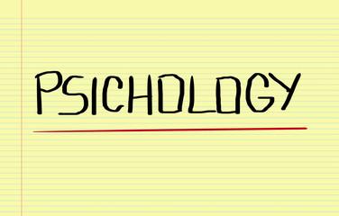 Psichology Concept