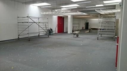 Baustelle Büro