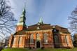 Leinwandbild Motiv Hauptkirche St Trinitatis Altona Hamburg