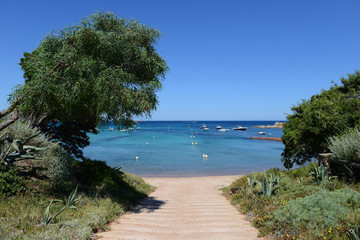 Mediterranean footpath