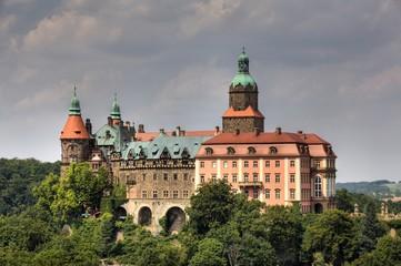 Ksiaz Palace, Silesia, Poland
