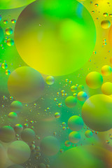 Psychedelic oil and water background