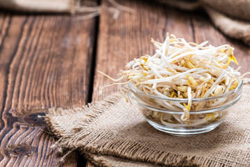 Bowl with Mungbean Sprouts