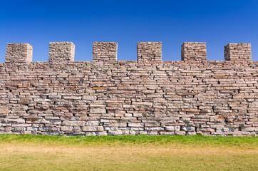 Eketorp castle defense wall