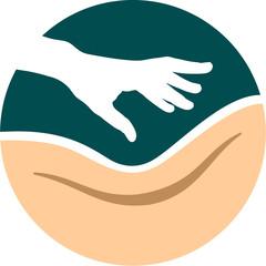 Logo Signet Icon für Massage Wellness Spa