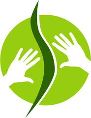 Logo oder Signet für Massage oder Osteopathie