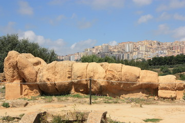 Telamone Statue