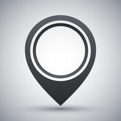 Vector map pointer icon