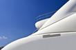 Top deck of a super yacht