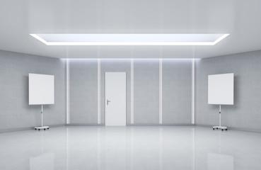 3d Emty Meeting Room Interior