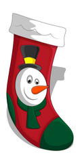 Christmas Stocking Vectors Illustration