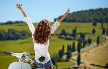 Happy day in Tuscany