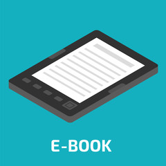 E-Book isometric