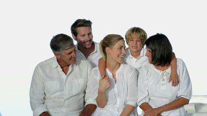 Three generation family