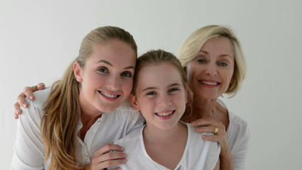 Three female generations