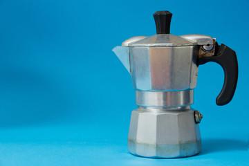 moka, vecchia caffettiera, caffettiera, mattina
