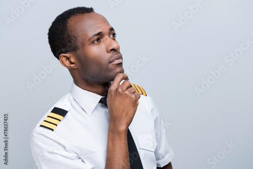 Thoughtful pilot. - 78637435