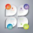 Zdjęcia na płótnie, fototapety, obrazy : Abstract 3D digital illustration Infographic.