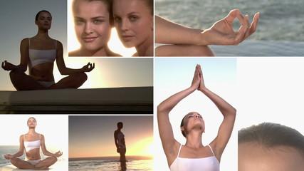 Sunset meditation -  Multiscreen