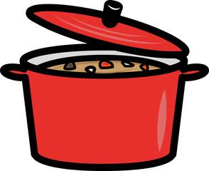 料理の入った鍋