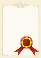 diploma stamp